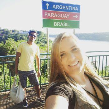 Marco das três fronteiras – Foz do Iguaçu