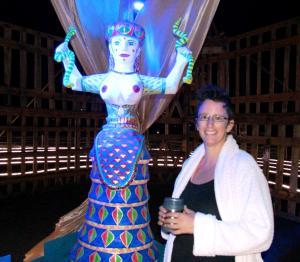 The Snake Goddess, Element 11 Festival, 2013
