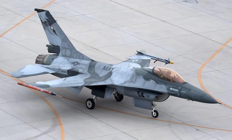 f-16a agressor