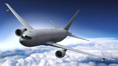 Photo of İsrail KC-46 tanker uçak alıyor