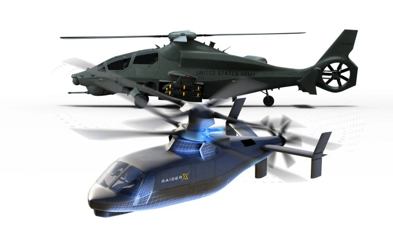 bell 360 Sikorsky raider x