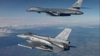 Photo of B-1B Karadeniz uçuşu