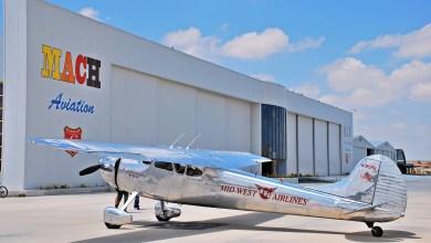 Photo of Sivrihisar'ın yeni uçağı 1951 model Cessna 195