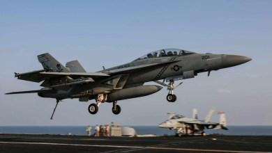 Photo of Filipinler Denizi'nde F/A-18F düştü