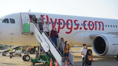 Photo of Gazipaşa uçuşları Pegasus'la başladı