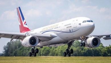 Photo of İngiliz VIP uçağı AB'den sonra yeniden boyandı