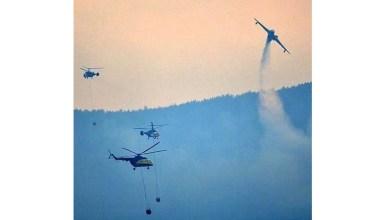 Photo of Gelibolu yangınına helikopterler ve uçaklar müdahale etti