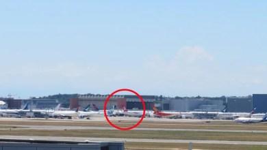Photo of THY'nin 3. A350 uçağının kuyruğu gözüktü