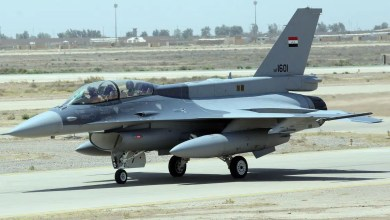 Photo of Irak F-16'ları yere indi