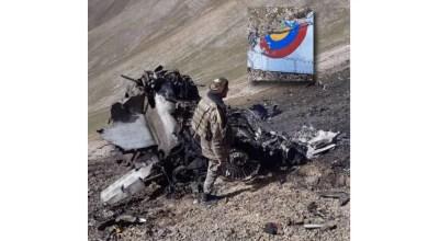 Photo of Ermenistan Su-25 enkaz fotoğrafını paylaştı