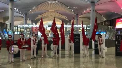 Photo of İstanbul Havalimanı'nda çifte kutlama