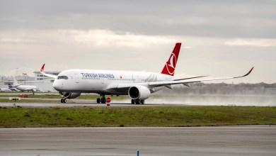 Photo of THY'nin 4'üncü A350 uçağı geldi