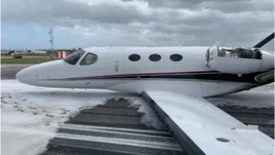 Photo of Kontrol uçuşunda gövde üzerine iniş