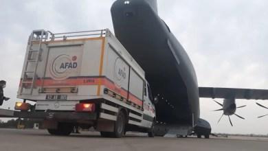 Photo of Hava Kuvvetleri nakliye uçakları ile yardım ağı kurdu