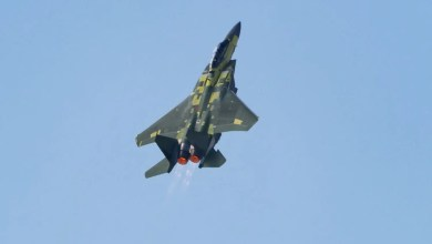 Photo of F-15EX ilk uçuşunu yaptı