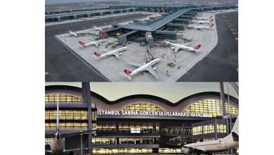 Photo of Zirvede İstanbul ve Sabiha Gökçen Havalimanları var