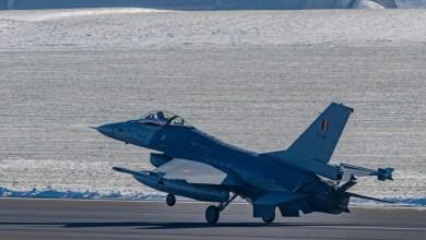 Photo of Belçika F-16'ların uçuşlarını durdurdu