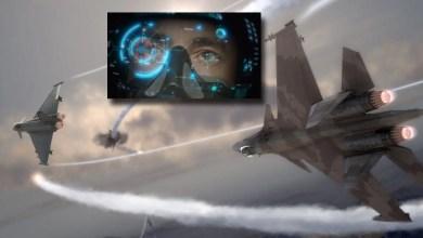 Photo of Pilotlar havada sanal gerçeklik gözlüğü ile dogfight yapacak