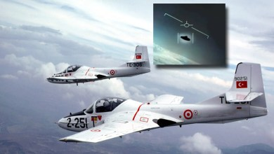 Photo of Türk Hava Kuvvetleri'nde raporlara geçen UFO olayı