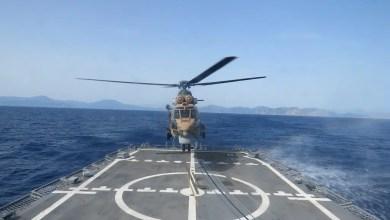 Photo of Özel Kuvvetler ve Hava Kuvvetleri'nden gemiye iniş eğitimi
