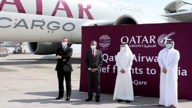 Photo of Qatar Airways Cargo Hindistan'a 300 tonluk tıbbı yardım taşıdı