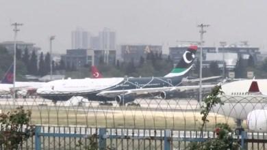 Photo of Kaddafi'nin uçağı İstanbul'da