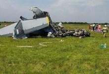 Photo of Rusya'da paraşütçü uçağı düştü