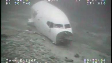 Photo of Okyanusa inen uçak görüntülendi