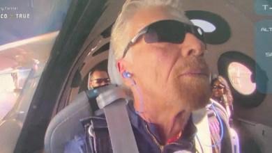 Photo of İlk uzay turisti: Richard Branson