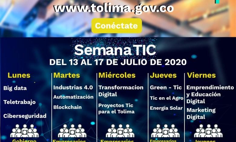 Photo of ¡A lo internacional! Llega al Tolima la semana de las TIC