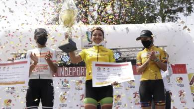 Photo of Aldemar Reyes y Yenifer Ducuara, los campeones de la Vuelta al Tolima 2020