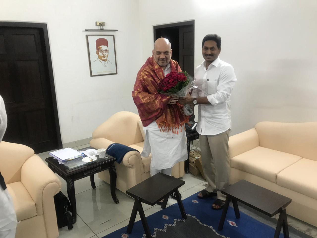 jagan met amit shah in his home
