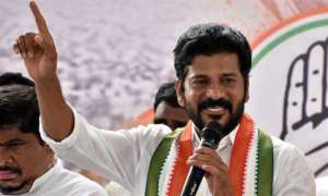 revanth reddy address in parliament sessions over telangana rtc employees strike issue