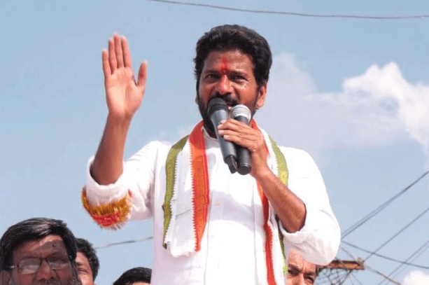 Revanth reddy In GHMC Elections campaign