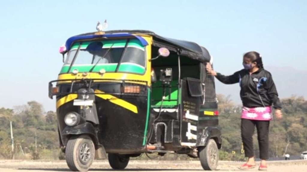 21-Year-Old Female Auto Driver