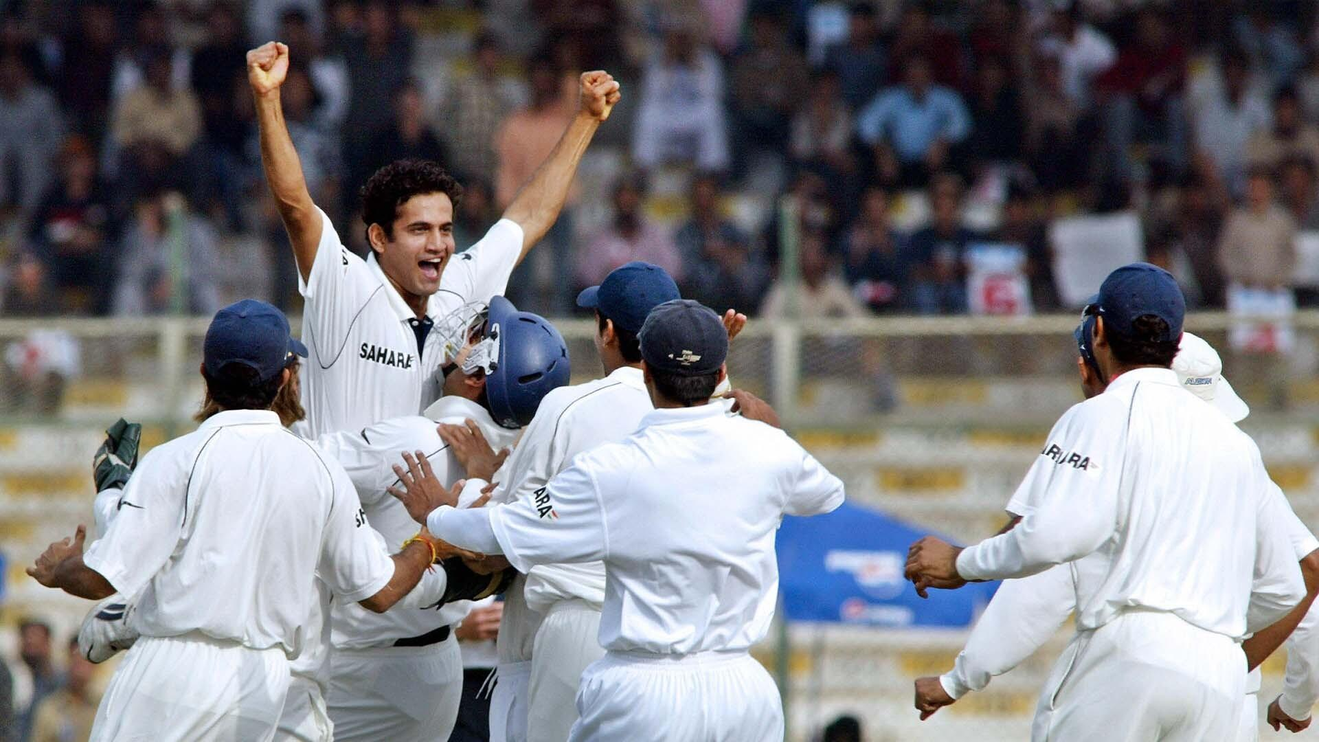 irfan pathan first over hat trick