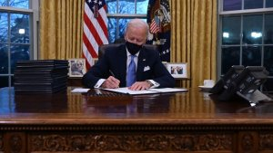 History Made: Joe Biden Signs 15 Execution Orders