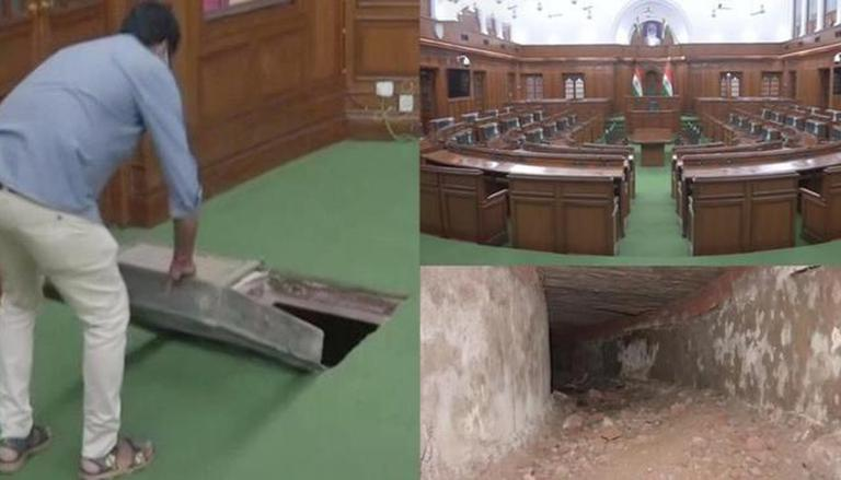 Delhi: Tunnel Connecting Legislative Assembly To Red Fort Discovered; See Why It Was Built