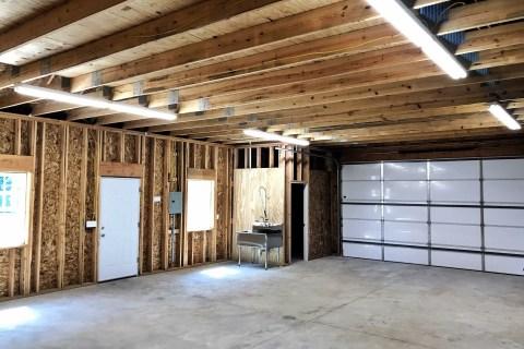 Attached Garage we built