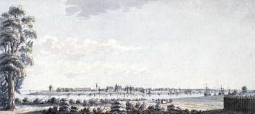 Vue de la Citadelle de Québec en 1784