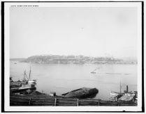 Québec vu de Lévis, entre 1890 et 1901 /Quebec from Levis, Quebec