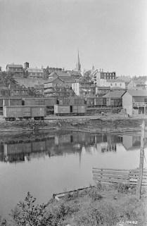 Rivière-du-Loup en 1926.Credit: Canada. Dept. of Mines and Technical Surveys / Bibliothèque et Archives Canada / PA-020032