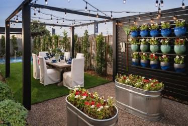 dining outdoor lights garden luxury creek az queen build