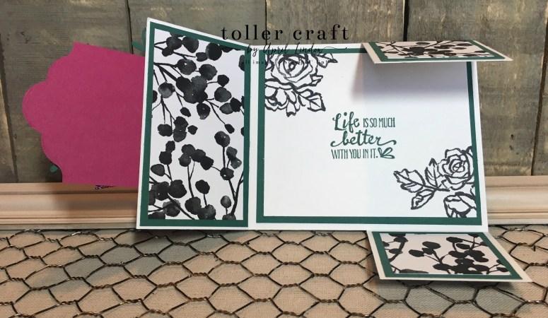 Petal Palette Dutch Fold Card