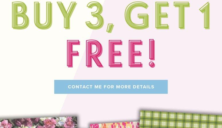 July Designer Series Paper Sale