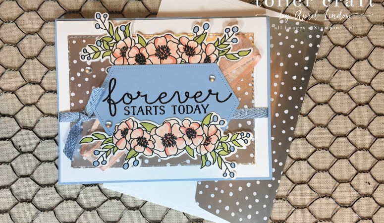 Bloom & Grow Wedding Card