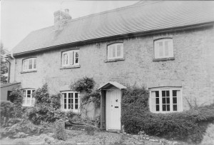 Mrs Chambers cottage early 1960s