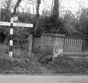 The Pinfold removed during road widening 1966
