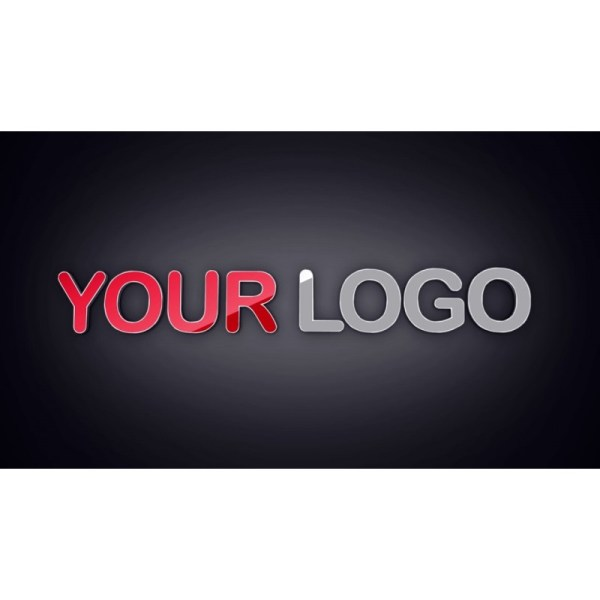 Animation Three Logos With Backgrounds
