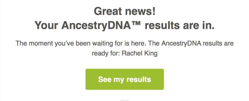 Ancestry results in